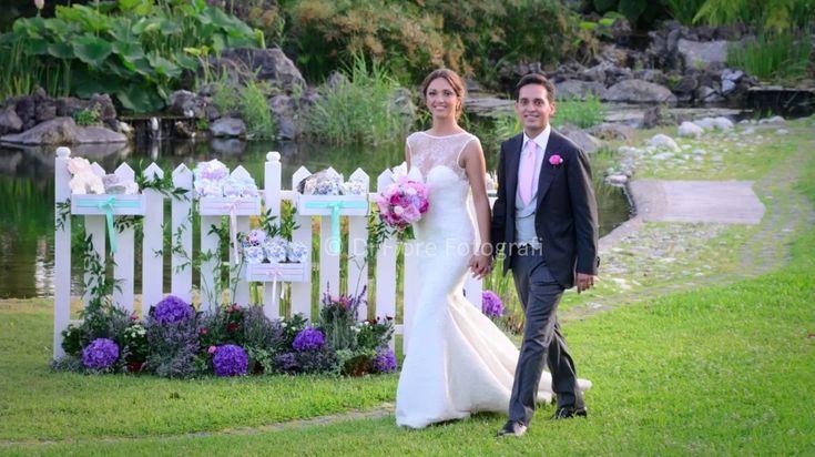 Novità matrimoni. Tendenze nozze. Matrimonio romantico British Style a Villa Angelina