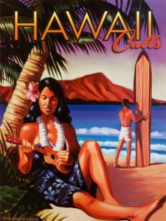 Hawaii Hawaii HawaiiVintage Posters, Hawaii Call, Hawaii Travel, Vintage Hawaii, Hawaiian Posters, Retro Posters, Hawaiian Islands, Travel Posters, Hawaii Hawaii