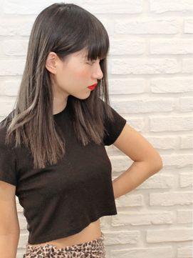 ★ 「外国人風ハイライト」×パツっとブツ切り上質semi ★ - 24時間いつでもWEB予約OK!ヘアスタイル10万点以上掲載!お気に入りの髪型、人気のヘアスタイルを探すならKirei Style[キレイスタイル]で。