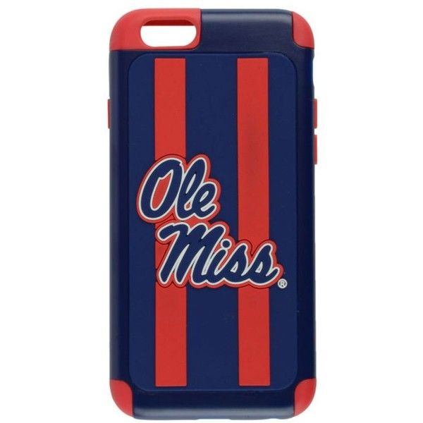 Forever Collectibles Mississippi Rebels iPhone 6 Case (£17) liked ...