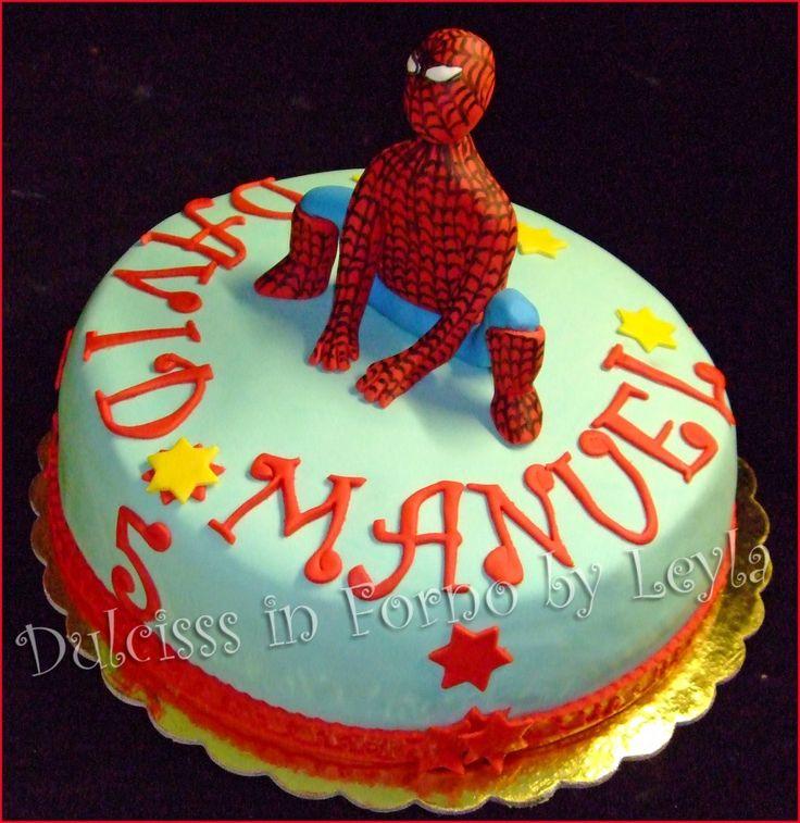 Exceptionnel Oltre 25 fantastiche idee su Torta spiderman su Pinterest | Torte  EL11