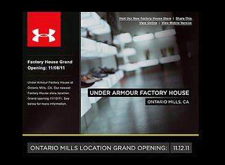 Under Armour Noticias Mundo Fox photo licensed from Edward Olive corporate photographer