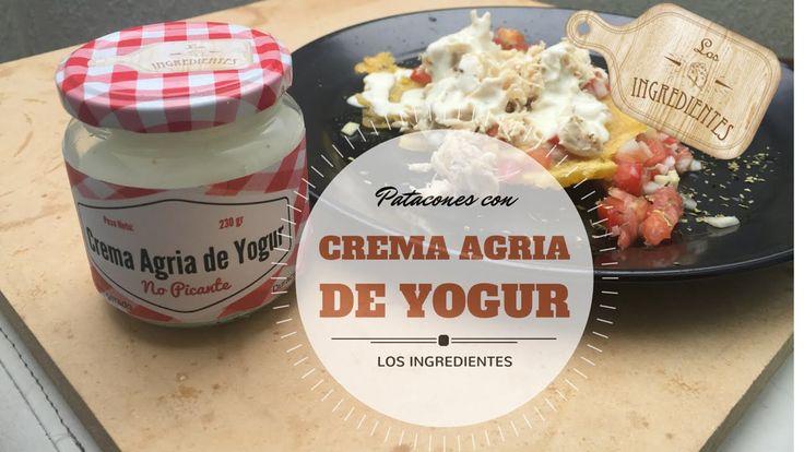 Patacones con pollo y Crema Agria de Yogur _ Los Ingredientes