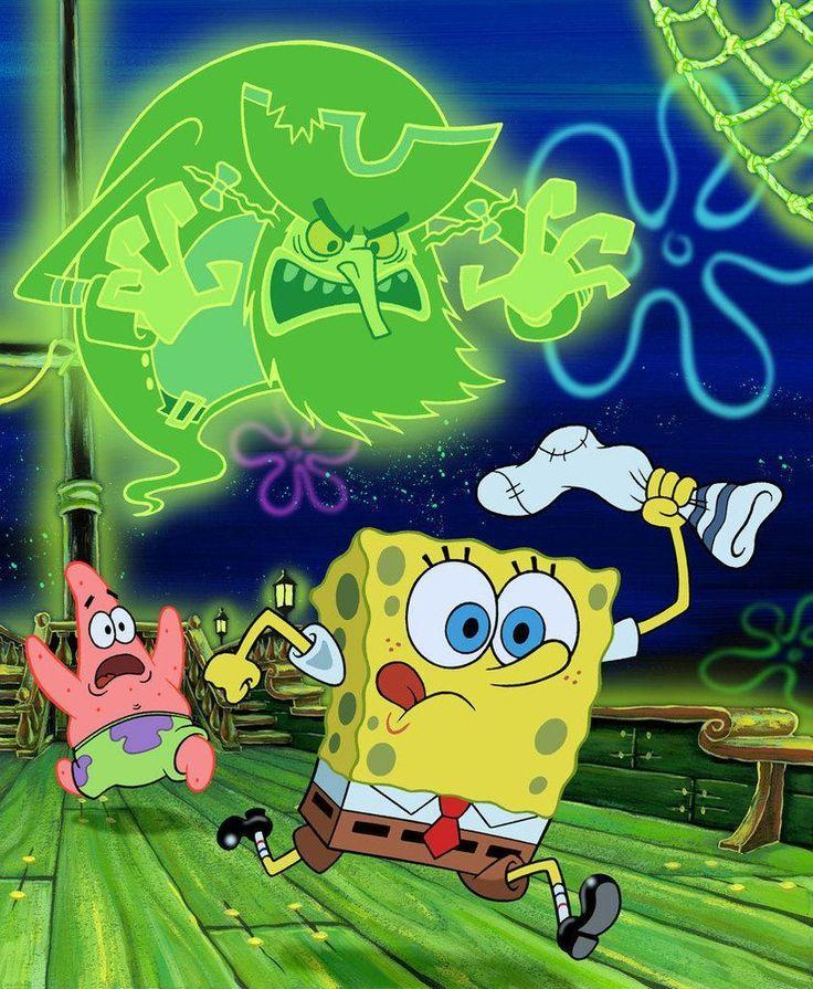 spongebob halloween the flying dutchman spongebob