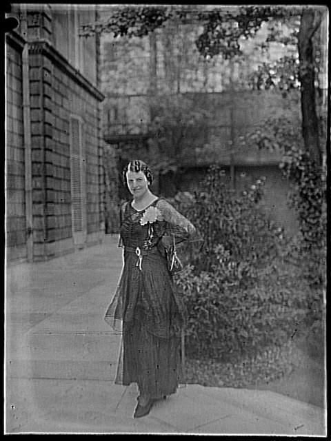 La comtesse Greffulhe, Mme Elisabeth de Caraman-Chimay Vizzavona François Antoine (1876-1961) ,  photographe COTE CLICHÉ Photographies DATE 1935 Réunion des Musées Nationaux-Grand Palais -