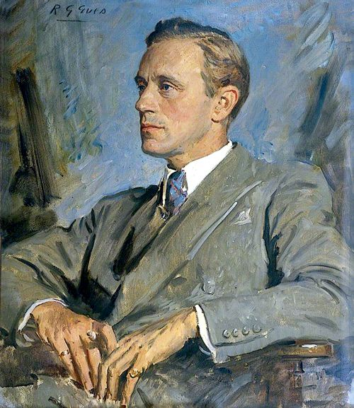 Portrait of Leslie Howard (1893-1943) by Reginald G.Eves (British 1876-1941)....English stage and film actor. Among his best-known roles was Ashley Wilkes in Gone with the Wind  and roles in Of Human Bondage  & The Scarlet Pimpernel. He was active in anti-Nazi propaganda and reputedly involved with British or Allied Intelligence. He died in  1943  when the plane he was travelling in was shot down over the Bay of Biscay... always a man of great elegance on and off the screen...
