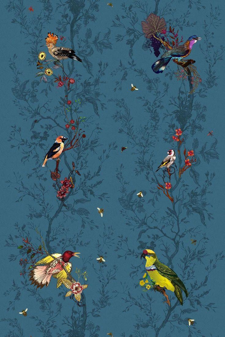 Timorous Beasties Fabric - Birds n Bees. Shop - Timorous Beasties - CRAZY BEAUTIFUL things here!!!