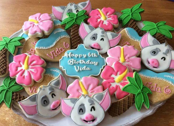 Cookies by Mama Rey's cookies aka Reylene/Moana's sidekick Pua