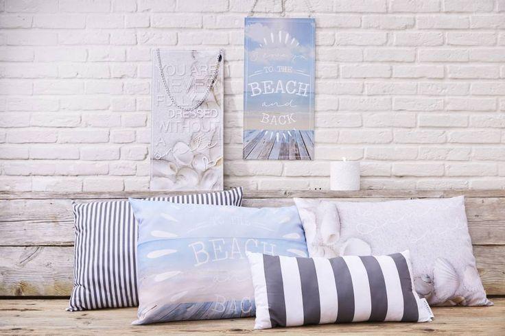 Riverdale Kussen Beach light blue - 70xH50 cm - Sweet Living Shop