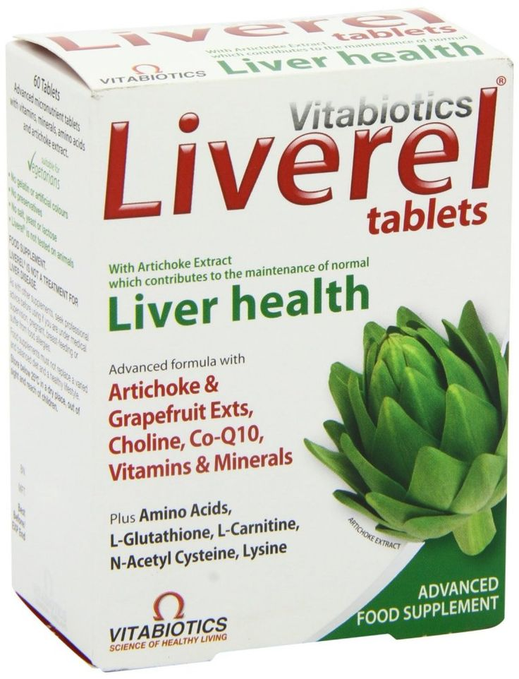 Vitabiotics Liverel Liver Health 60 Tablets Advanced micronutrient tablets with vitamins, minerals, amino acids and artichoke extract. Nutritional support to help maintain normal liver health.The liver has many vital functions including removin http://www.MightGet.com/march-2017-1/vitabiotics-liverel-liver-health-60-tablets.asp