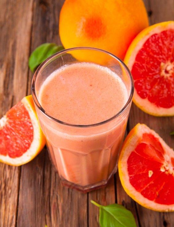 Retete de smoothie cu grapefruit, racoritoare si parfumate