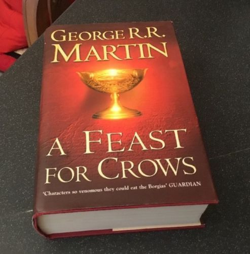 A feast for #crows #george r.r martin hb book 1st first #edition game of thrones,  View more on the LINK: http://www.zeppy.io/product/gb/2/361761208686/