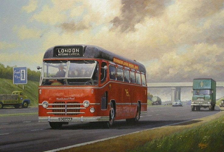 Midland Red M1 Express » Transport Artist