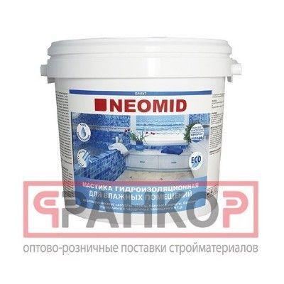 NEOMID Supercontact - мастика клеящая универсальная термостойкая предназначена для кладки и облицовки печей и каминов, склеивания различных поверхностей.
