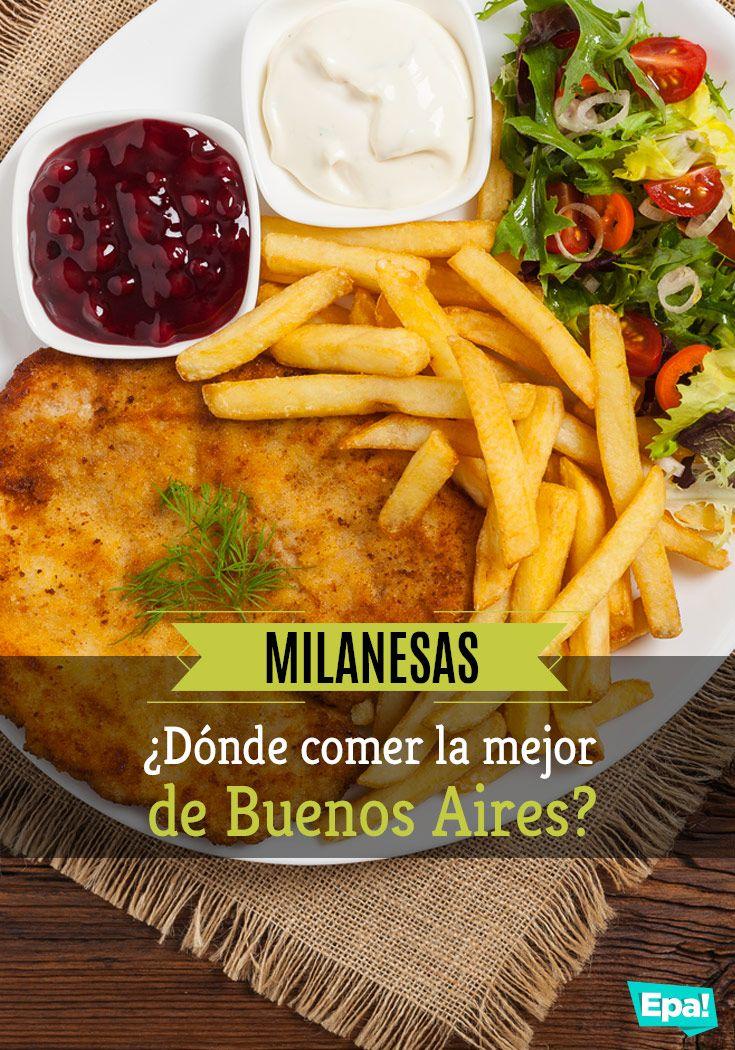 ¿Dónde comer la mejor milanesa de Buenos Aires? Mirá nuestras recomendaciones y lo que eligió la gente en http://epa.club  #comer #milanesa #resto #comerafuera #milanga #buenosaires #dondecomer #recomendacion #tip #cocina #bodegon #salida #epaclub