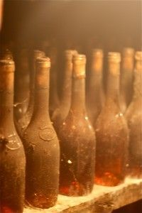Tokaj aszú in the cellar