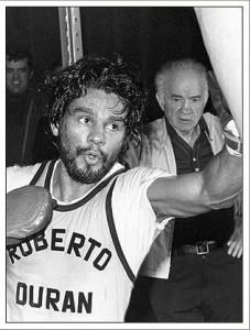 "My favourite fighter of all times! ""Manos de Piedra"" Roberto Duran"