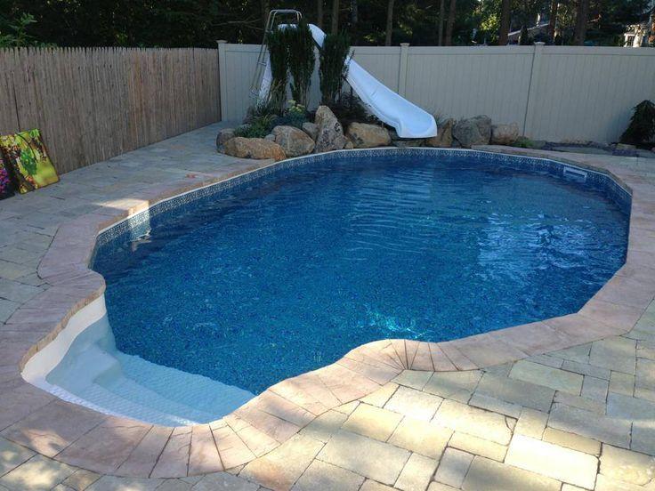 Best 25 semi inground pools ideas on pinterest semi - Semi above ground pool ideas ...