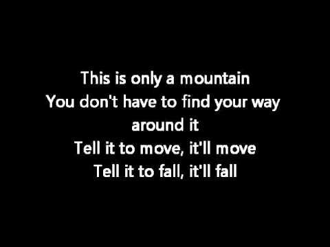 Only A Mountain ~ Jason Castro ...GREAT lyrics and so ENCOURAGING!!!