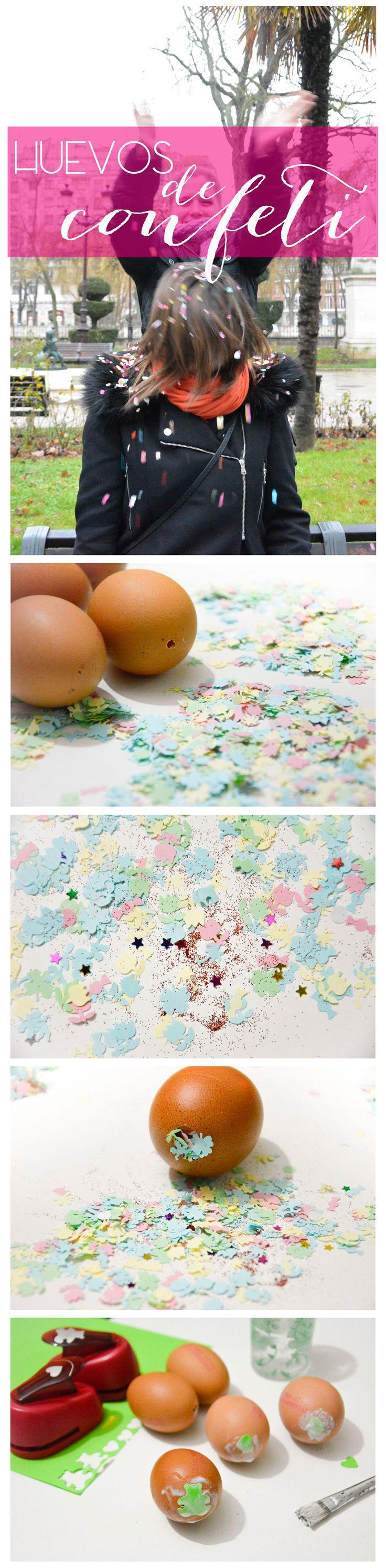DIY Huevos de confeti