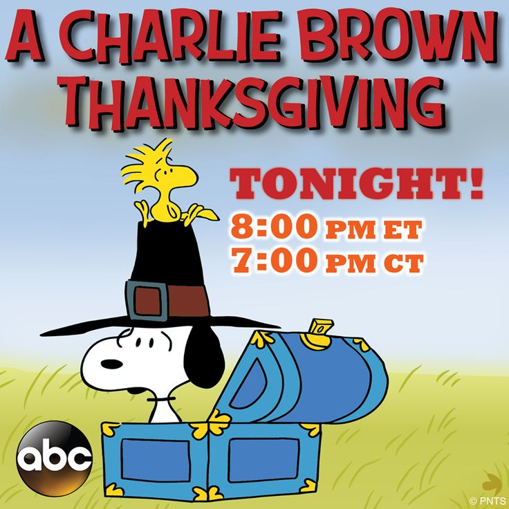Watching tomorrow on DVD Charlie brown thanksgiving