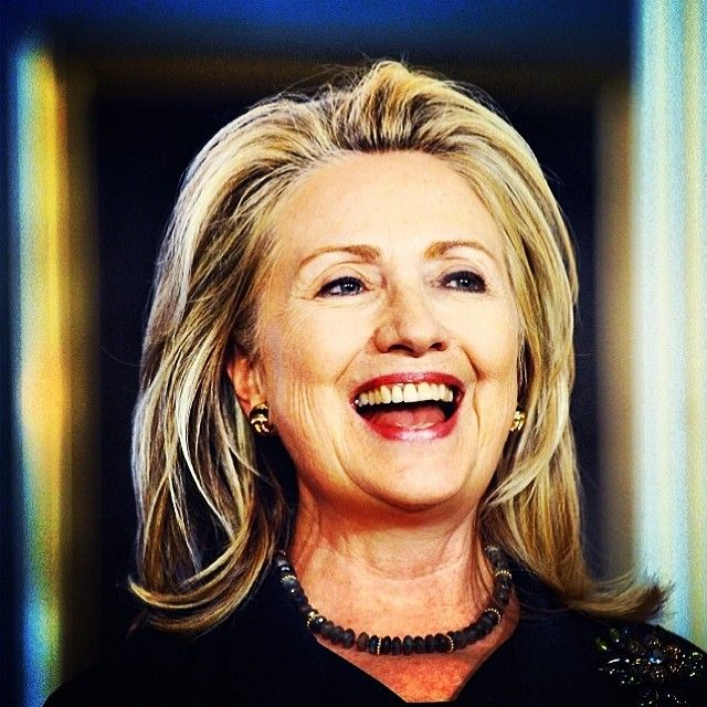 It's all smiles here at Hillary Clinton 2016.  Support Hillary Clinton for 2016 President.
