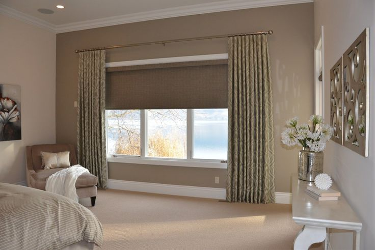 hunter-douglas-textured-blackout-roller-shade-with-maxwell-fabric-sidepanels