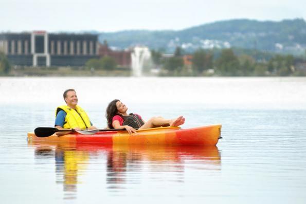 Pavillon Armand-Nadeau du parc Jacques-Cartier - Sherbrooke - Nautisme Canot, Kayak, Pédalo | Cantons-de-l'Est (Estrie)