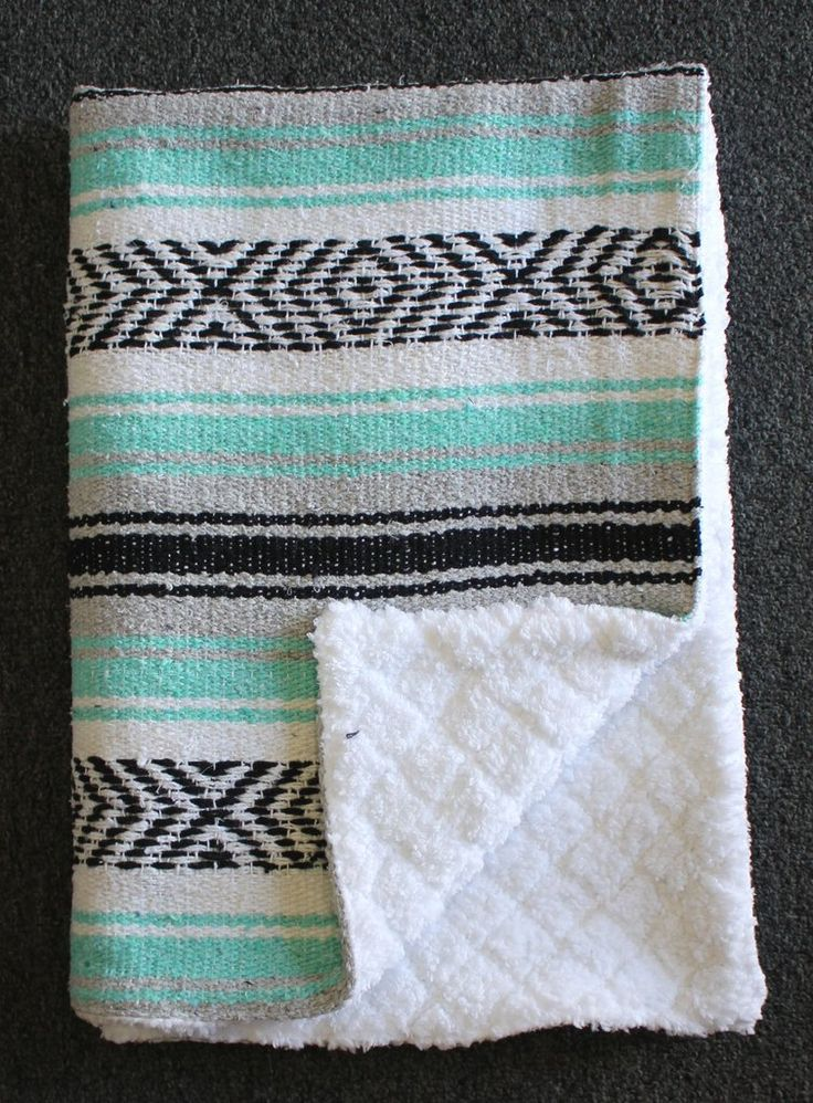 GOT! Baja Baby™ Mexican Baby Blanket -Sea Foam Dream - Del Mex Just got this one!