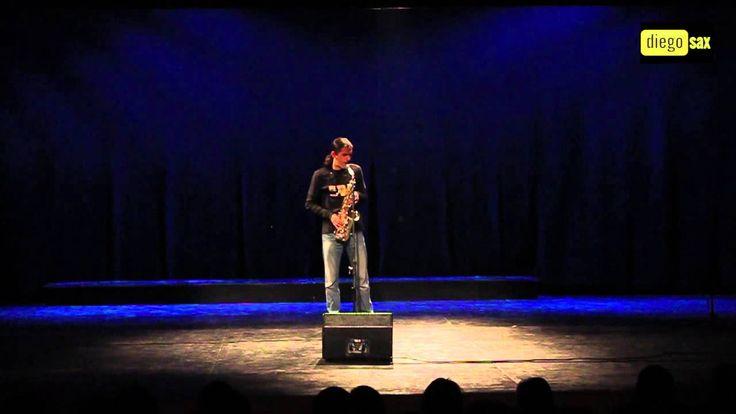 Tears in Heaven con Saxofón Alto por diegosax