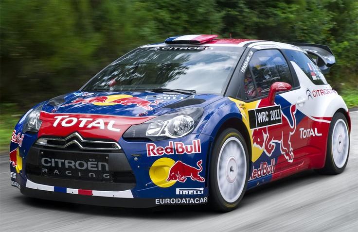Citroen DS3 WRC-Front Rear View