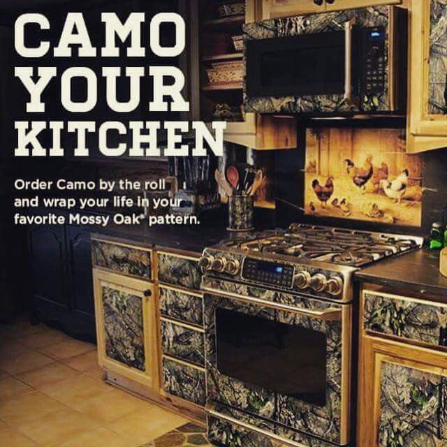 Oh my gosh! Please!!!!! Camo Kitchen!