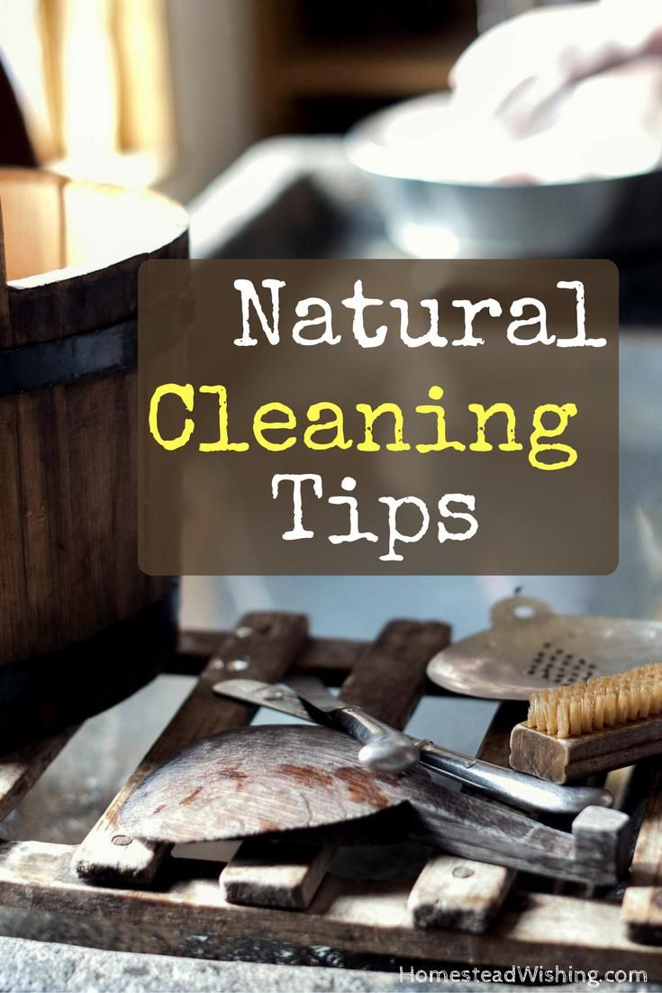 Natural Cleaning Tips - Simple Tips for Cleaning