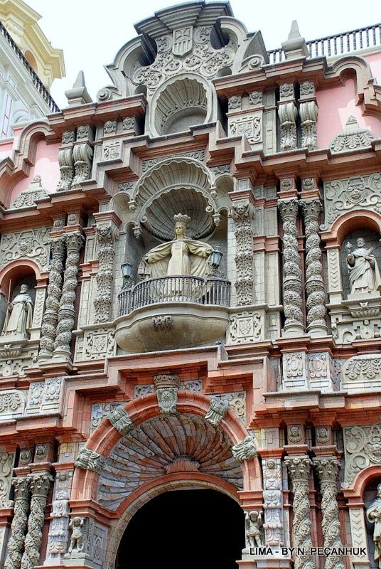 La Merced ~ Lima, Peru It's amazing how architecture can inspire us.