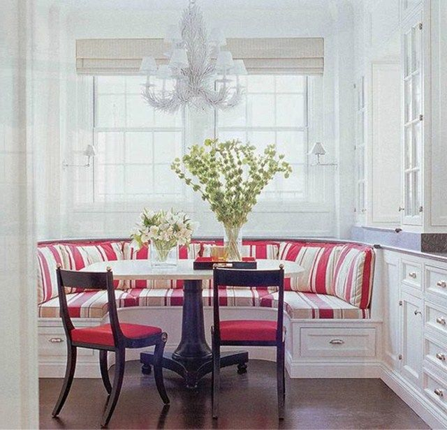 kitchen table with benches | Kitchen Bench Seating Cushions of Kitchen Bench Seating for Your best ...