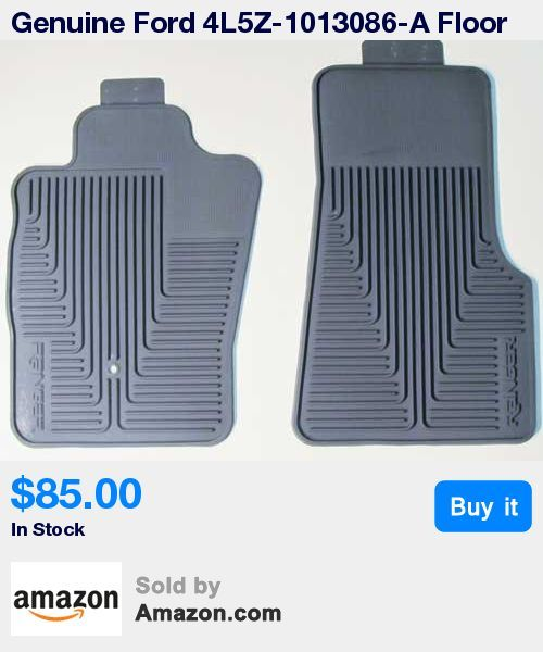 Genuine OEM * Tough, durable all-weather floor mats * Protect the vehicle's original factory carpet * Ribbed channel design helps contain moisture, grease, dirt, sand and other debris * Ford Ranger 2007, Ford Ranger 2008, Ford Ranger 2009, Ford Ranger 2010 * 14:53 Jan 30 2017