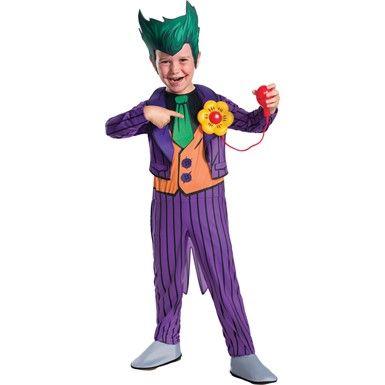 Kids the Joker Costume - Deluxe - Boys Joker Costumes  sc 1 st  Pinterest & Best 25+ Scary Clown Masks u0026 Costumes images on Pinterest | Scary ...