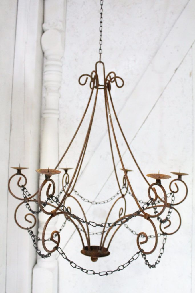 17 of 2017s best Hanging Candle Chandelier ideas – Wrought Iron Candle Chandelier