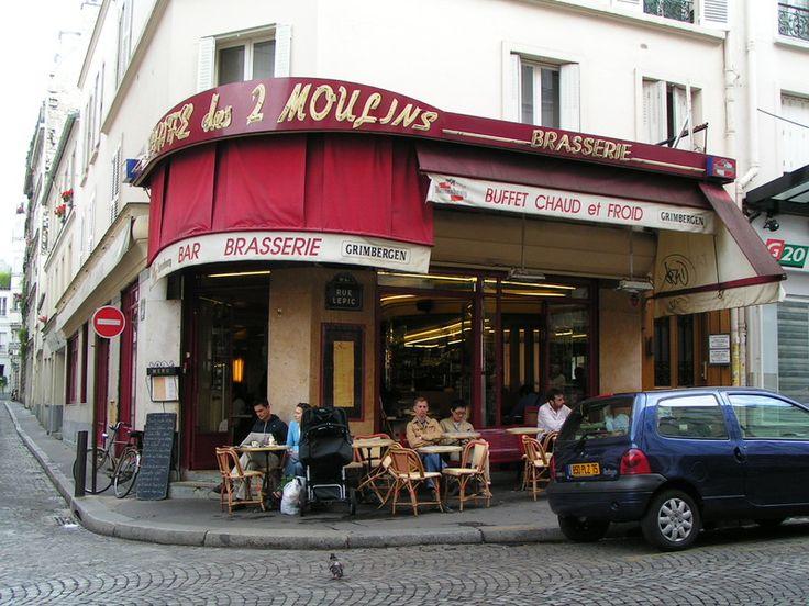 カフェ・デ・ドゥ・ムーラン(Café des Deux Moulins):Île-de-France, フランスに関する旅のエピソード