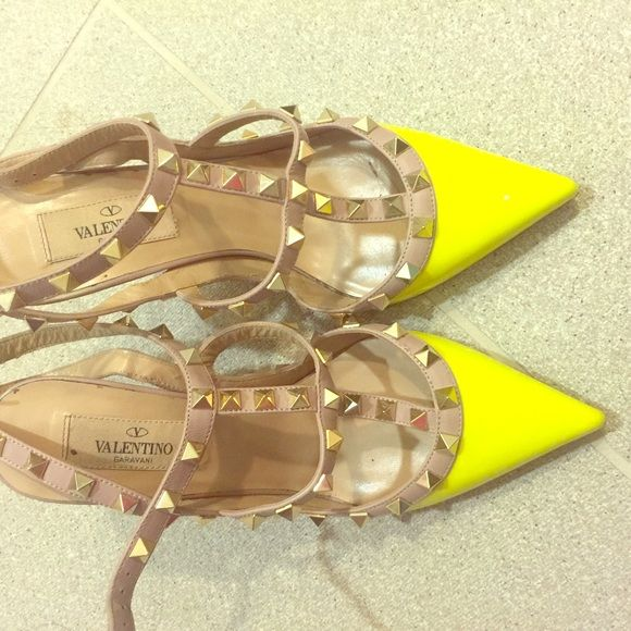valentino high heels 99% new only wear once! Valentino Shoes Heels