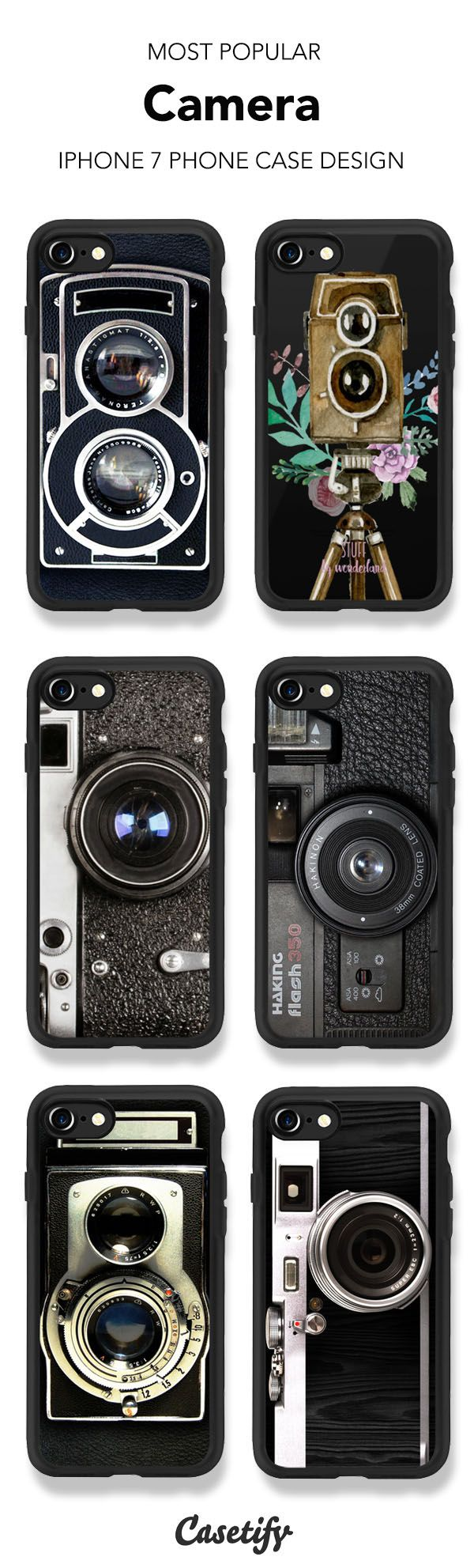 Most Popular Camera iPhone 7 and iPhone 7 Plus case. Shop them all here >   https://www.casetify.com/artworks/0TTCw9NIfl
