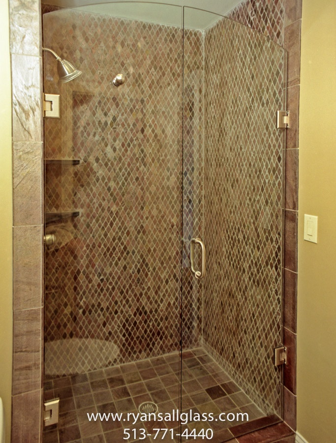 how to build a glass shower enclosure