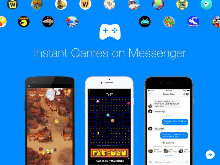Facebook Instant Games  Play games right inside Facebook Messenger