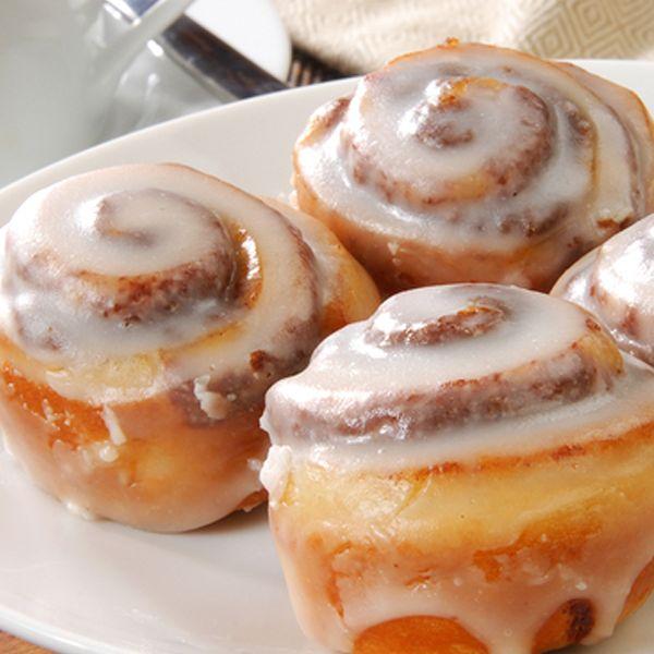 Hard to resist these mini cinnamon buns. Mini Cinnamon Bun Recipe Recipe from Grandmothers Kitchen.