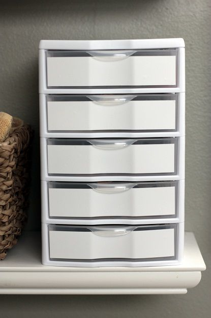 Cosmetic Organizers/Storage Solutions/Drawers   Makeup Storage Ideas |  Vanilla Joy
