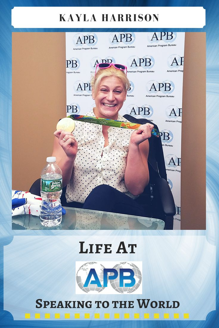 Kayla Harrison made history by being the first American (man or woman) to win two #goldmedals in Judo at the #2012Olympics in #London and the #2016Olympics in #Rio. She recently visited the APB office to talk about her #training as an #Olympian, #mentalillness, and the #sexualassault she went through during her training. http://www.apbspeakers.com/speaker/kayla-harrison/