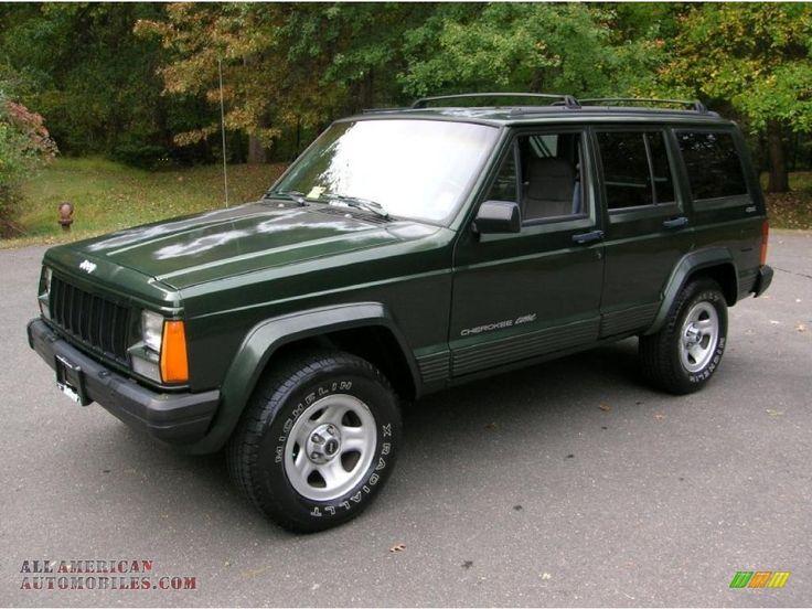 1996 Cherokee Classic 4x4 Moss Green Pearl / Gray Jeep