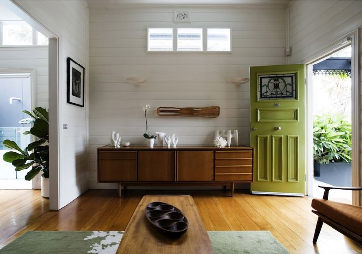 The sideboard and coffee table are vintage Parker furniture. thegeneralist.com