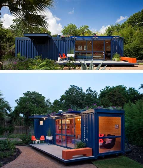 Container Guest House: Live Easily | Busyboo Design Blog - for the back 40 or at the Tarn.