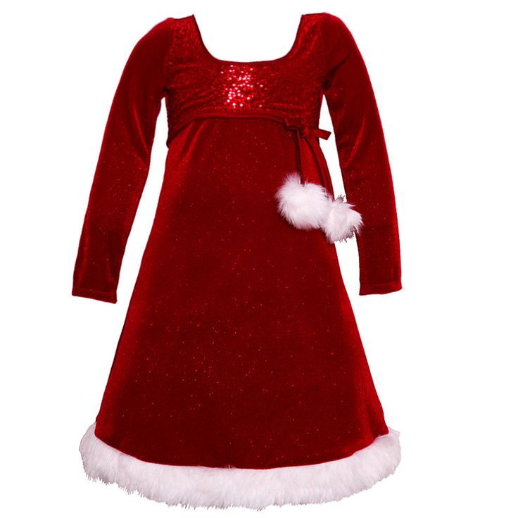 Nice Great Bonnie Jean Big Girls Red Glitter Faux Fur Pom-Pom Christmas Dress 7-16 2017 2018 Check more at http://24store.ml/fashion/great-bonnie-jean-big-girls-red-glitter-faux-fur-pom-pom-christmas-dress-7-16-2017-2018/